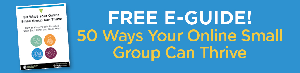 Free e-guide - 50 ways your online small group can thrive
