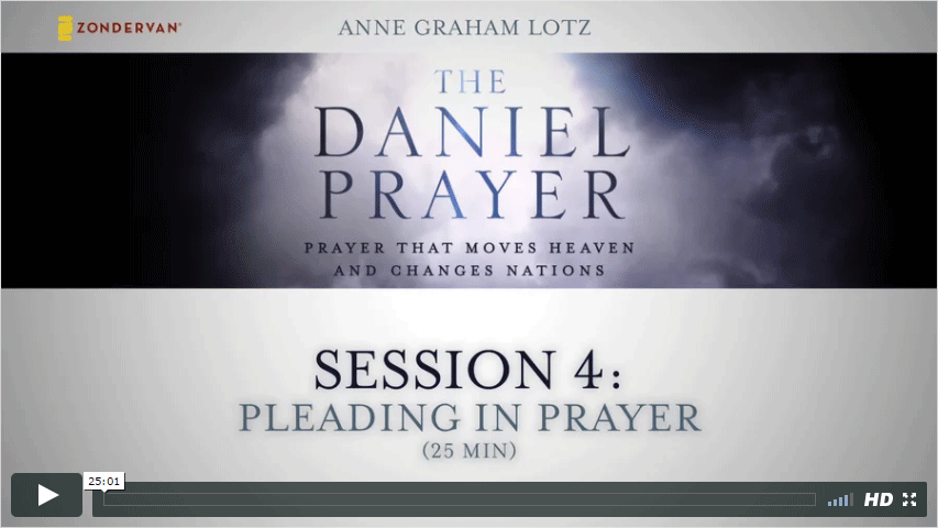 Session 4 - Pleading in Prayer