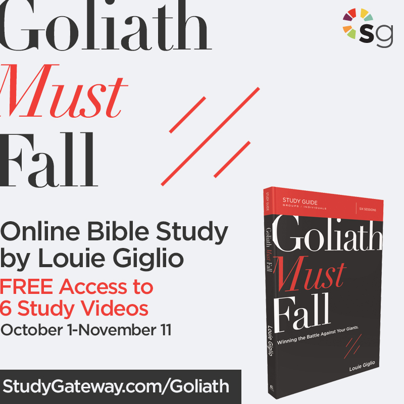 Goliath Must Fall Online Bible Study