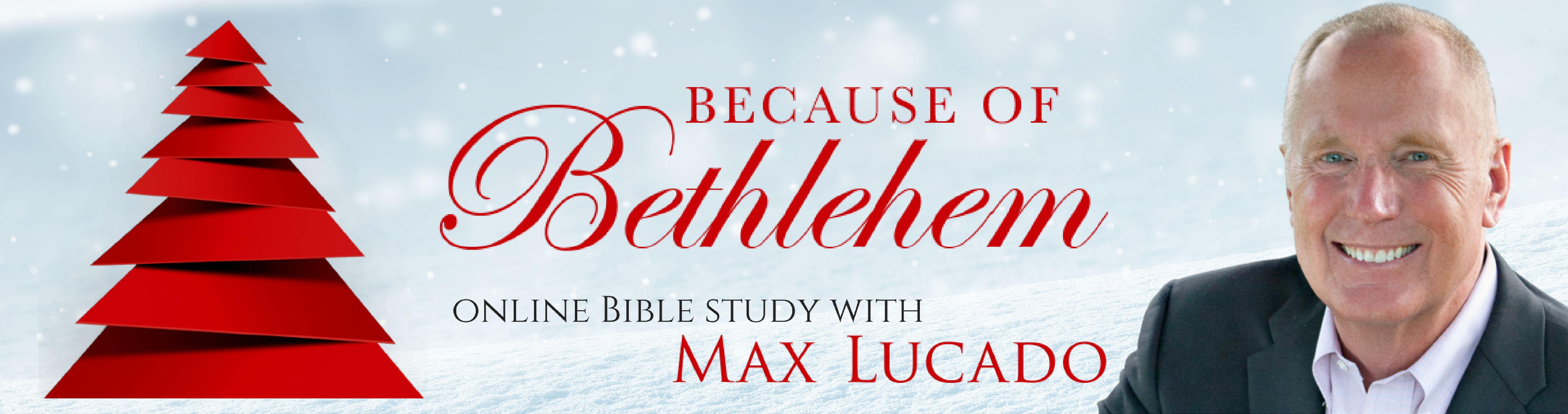 join the because of bethlehem online bible study with max lucado
