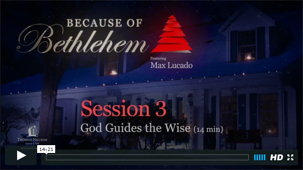 Session 3 - God Guides the Wise