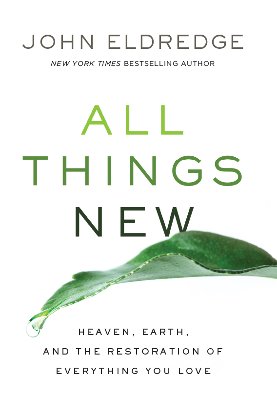 All Things New Book