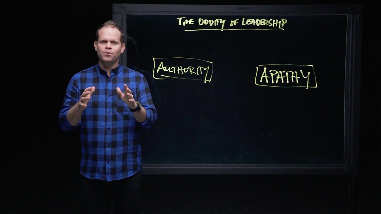Session 1 - The Oddity of Leadership