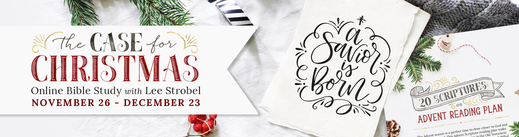 youre invited the case for christmas online bible study - The Case For Christmas