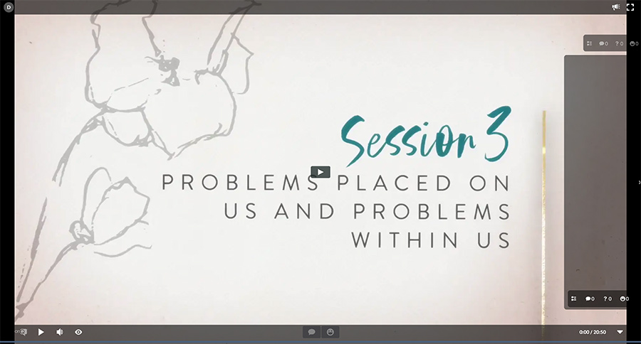 Session 3 - Problems Placed On Us and Problems Within Us