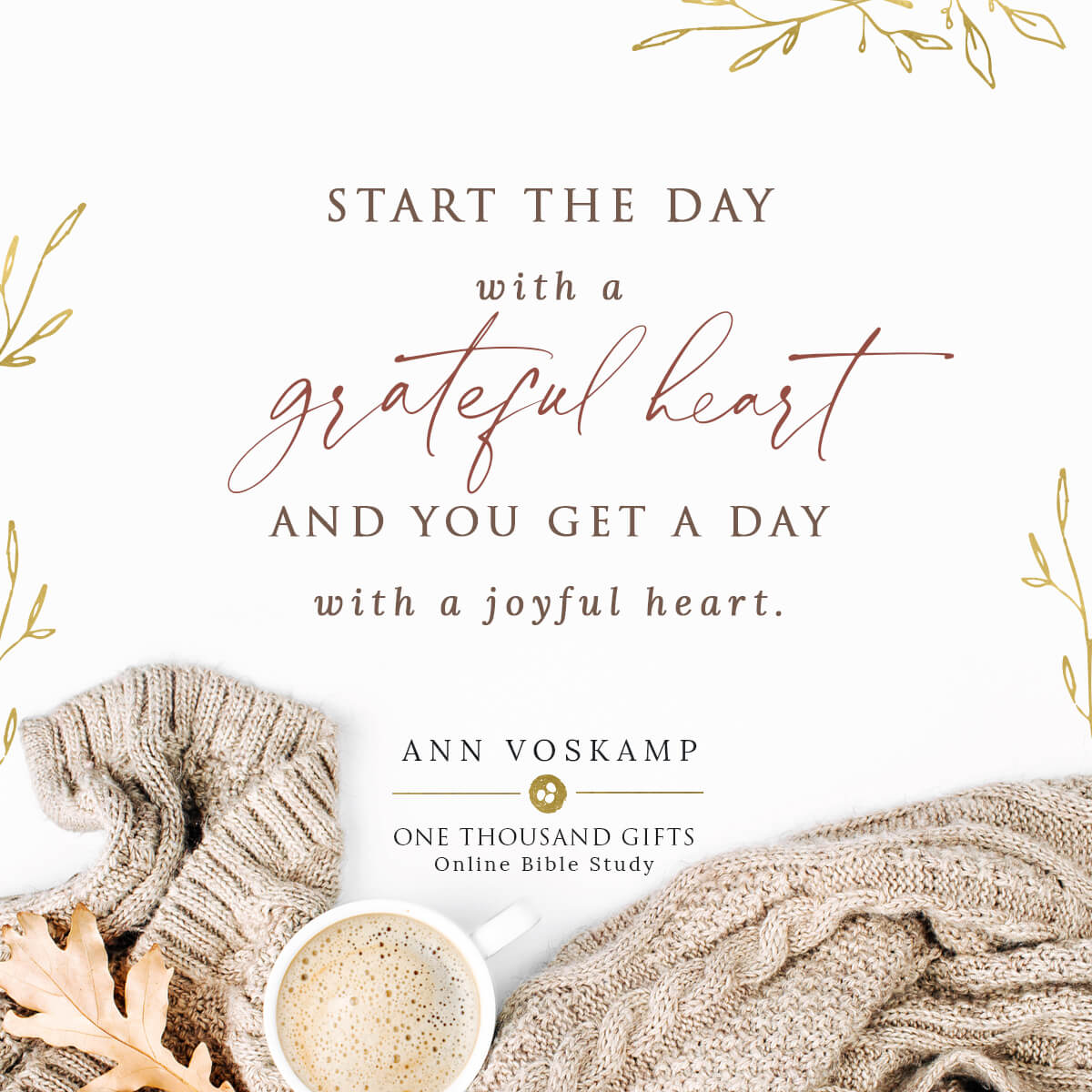 One Thousand Gifts Online Bible Study